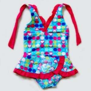 Piece Girls Halter Swimsuit Kids Beachwear/Swimwear NWT SZ 3 9Y