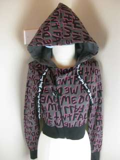 Abbey Dawn Gray Moto short dont fall in love hoodie  710