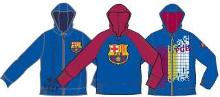 FC Barcelona   Official Sweat Jacket Hoody Track Top Sudadera