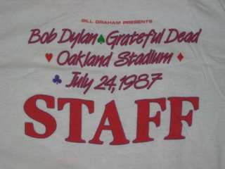 VTG DAY ON THE GREEN BOB DYLAN GRATEFUL DEAD T SHIRT