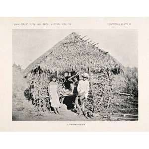 1922 Print Negrito Philippines Ethnic Indigenous Costume