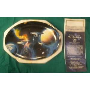 : Hamilton Mint Star Trek TO BOLDLY GO Ceramic Plate: Everything Else