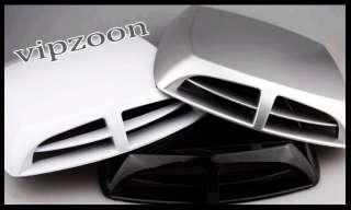Car Air Scoop Flow Intake Turbo Hood Vent Cover
