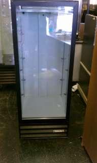 BEVERAGE AIR SINGLE GLASS DOOR COOLER REFRIGERATOR MERCHANDISER  COOLS