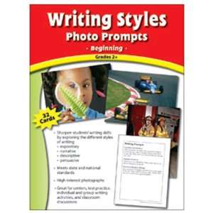 7 Pack EDUPRESS WRITING STYLES PHOTO PROMPTS GR 2