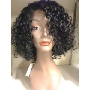 Synthetic Lace Wig Sil Black Beauty