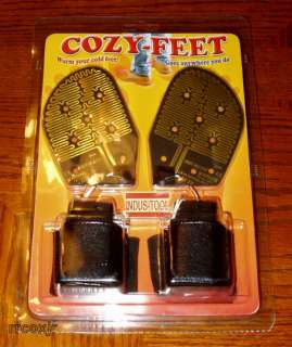 COZY FEET HEATED FOOT HAND WARMERS SHOE BOOT GLOVE INSERTS INDUS TOOL