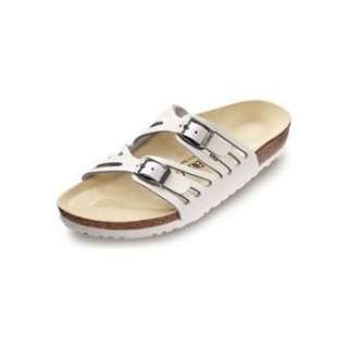 Birkenstock Womens Granada White Leather Sandal EU 40R US 9