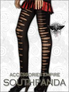 SL218 Fashion Sexy Punk Rock Tearing Tights Pantyhose