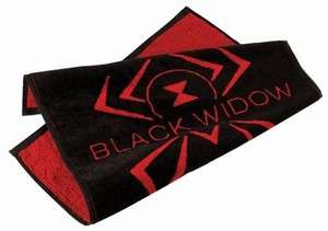 New Hammer Black Widow Spider Red Logo Bowling Ball Towel