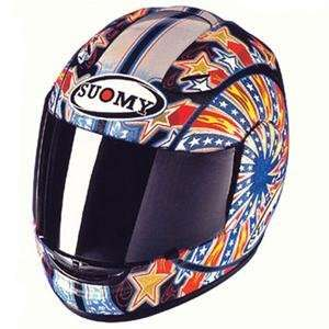 Suomy Spec 1R Bostrom Replica Helmet   Medium/Ben Bostrom Automotive