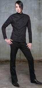Lip Service The Blacklist mens long sleeve shirt top goth gothic