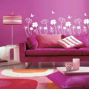 CLOVER SET MURAL ART DECOR DECALS WALL STICKER 4 COLORS