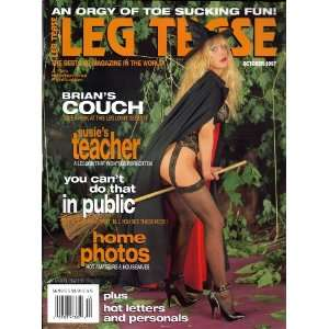 LEG TEASE OCTOBER 1997: LEG TEASE MAGAZINE: Books