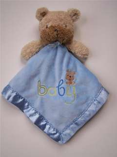 Baby Blue Bear Amp Moon 15 Pcs Boy Girl Crib Bedding Set