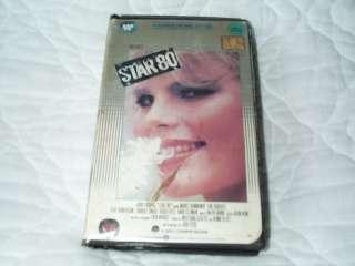 STAR 80 VHS MARIEL HEMINGWAY DOROTHY STRATTEN BOB FOSSE