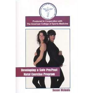 Safe Pre/Post Natal Exercise Program [VHS] Susan Mcinnis Movies & TV