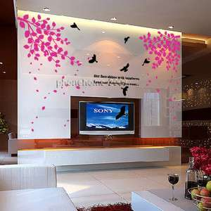 Swallow Wall Paper Art Sticker Decor Decal Sticker ML29
