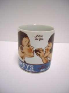 Hershey Kiss Mug Boy Girl A Kiss For You 1979 Vintage