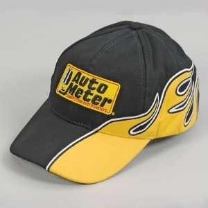 Auto Meter Hats Ball Cap, Brushed Cotton, Auto Meter Logo