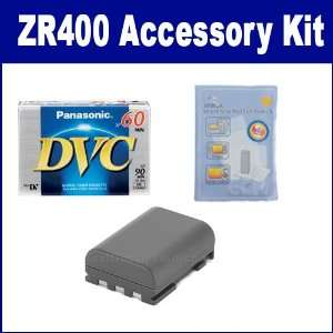 Canon ZR400 Camcorder Accessory Kit includes DVTAPE Tape