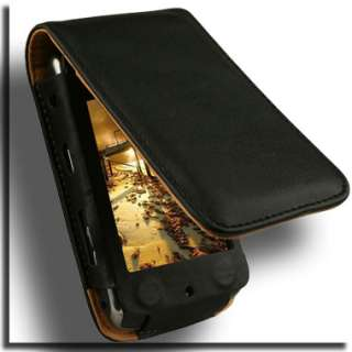 Leather Flip Case for BlackBerry Storm 2 9530 Cover GD NEW