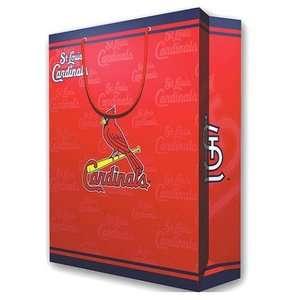 St. Louis Cardinals Large Holiday Gift Shopping Bag