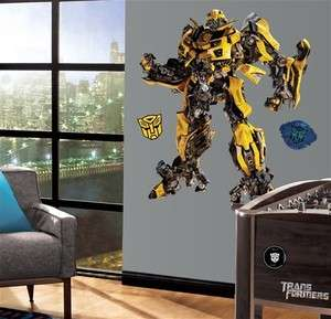 Giant BUMBLEBEE WALL DECALS Transformers Stickers 034878826240