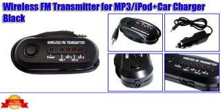 FM Transmitter Car Stereo For CD DVD Player PDA Laptop