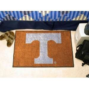 Tennessee UT Vols Volunteers Starter Rug/Carpet Welcome