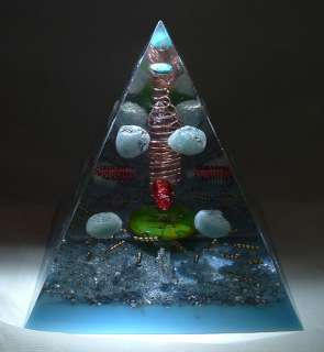 Orgone Supplies Giza Pyramid Mold 6 inch Lot of 10 |