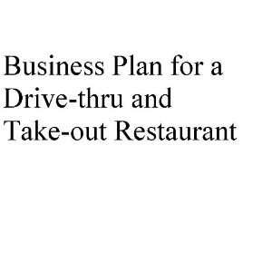 Take out business plan