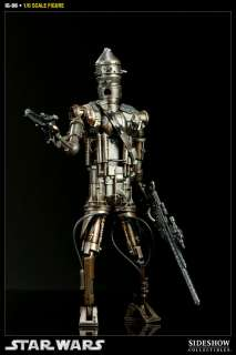 SIDESHOW Star Wars IG 88 Droid 12 Figure Bounty Hunter NEW SEALED IN