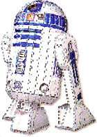Star Wars R2D2 3D Puzzle Puzz3D, Instructions Only