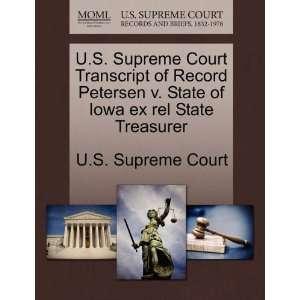 U.S. Supreme Court Transcript of Record Petersen v. State