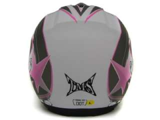 RISING STAR FULL FACE MOTORCYCLE STREET SPORTBIKE HELMET DOT