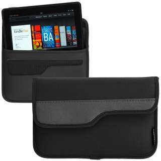 CaseCrown Neoprene Cover Case for Kindle Fire (Black)