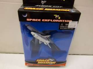 REALTOY ACTION CITY SPACE MISSION EXPLORATION B747 & SHUTTLE DIECAST