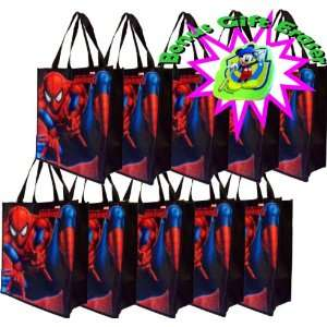 Spiderman Gift Bag or Buy a Multi pack for Spiderman Party Favors