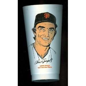 1973 Chris Speier San Francisco Giants 7 Eleven Baseball