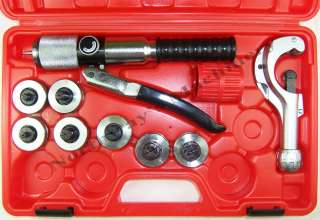 CBI CT300 Deluxe Hydraulic Tubing Expander Tool Kit OD Soft Copper