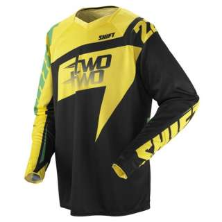 Shift Racing Chad Reed 22 Two Two Motorsports Jersey Green/Yellow