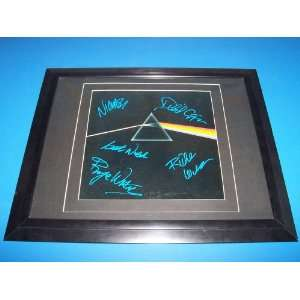 pink floyd autographed dark side of the moon