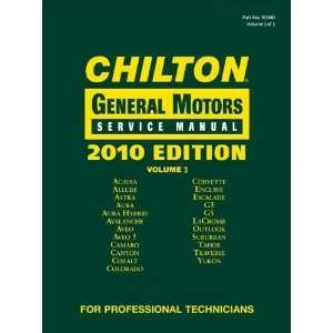 Chilton General Motors Service Manual, Vol. 3