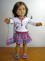 4pc Skirt Outfit Doll Clothes for American Girl & 18 Dolls