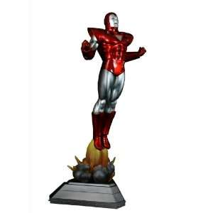Bowen Designs Iron Man Painted Statue (Silver Centurion
