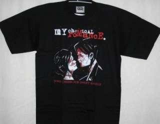 My Chemical Romance Short Sleeve Black T Shirt   NEW