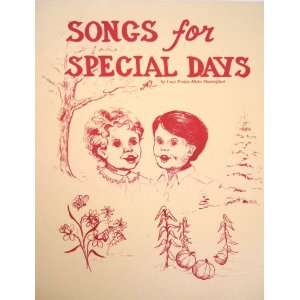 for Special Days: Lucy Evelyn Hicks Shackelford, Dorothy French: Books