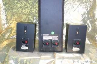 Polk Audio Monitor 6 Series 2 Speaker System 3pcs