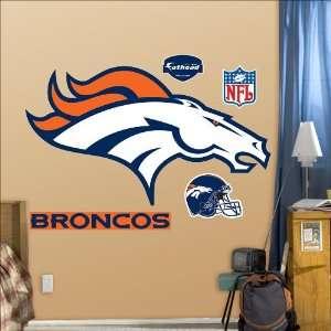 Denver Broncos Logo Fathead: Toys & Games